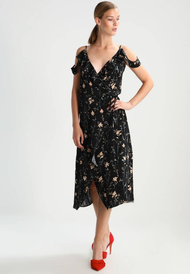 """mint&berry. Summer dress - multicoloured. Fit:tailored. Outer fabric material:100% viscose. Our model's height:Our model is 70.5 """" tall and is wearing size 8. Pattern:floral. Care instructions:do not tumble dry,machine wash at 30°C,Machine..."""