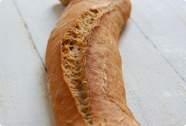 Dinkelvollkorn-Baguette | The Vegetarian Diaries