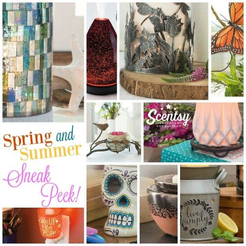 Sneak Peek Scentsy Spring Summer 2016 Available March 1st Scentsy