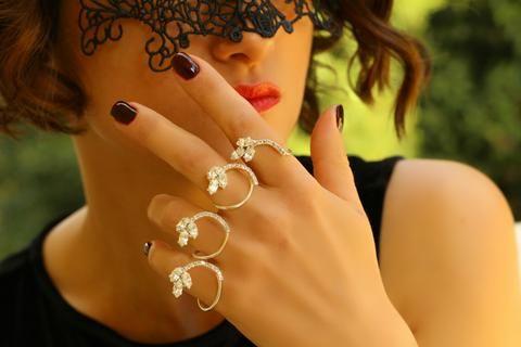 Gümüş Kaplama Spiral El Bileziği, Ayarlanabilir / Gümüş, El Bileziği, Takimania