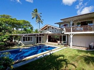 Spectacular Beachside Home with Solar Heated Salt Water Pool and Full A/C