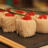 Roulés de pain de mie oeufs de lompe façon Maki, recette chic, roulés, apéritif, apéro