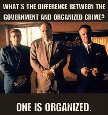 Organized crime government
