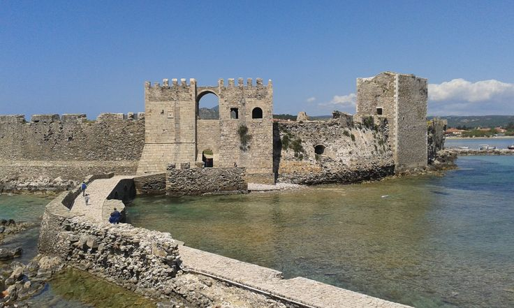 The castle in Methoni, Messinia!
