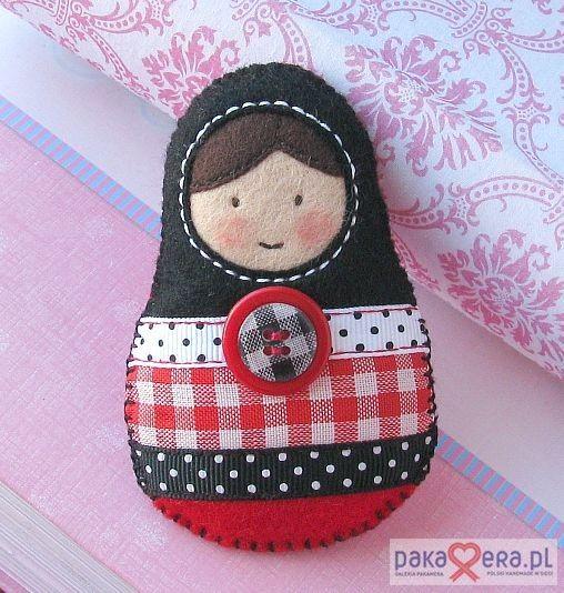Felt Matryoshka Russian Nesting Doll