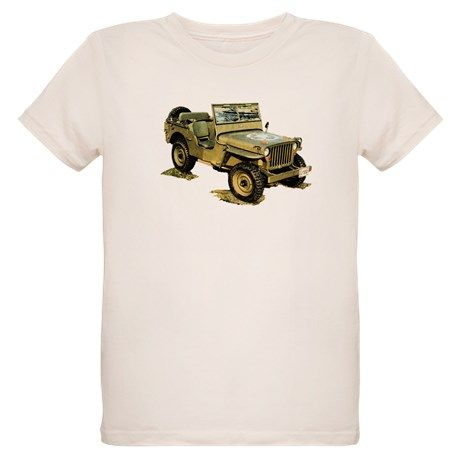 Willys Jeep T-Shirt on CafePress.com