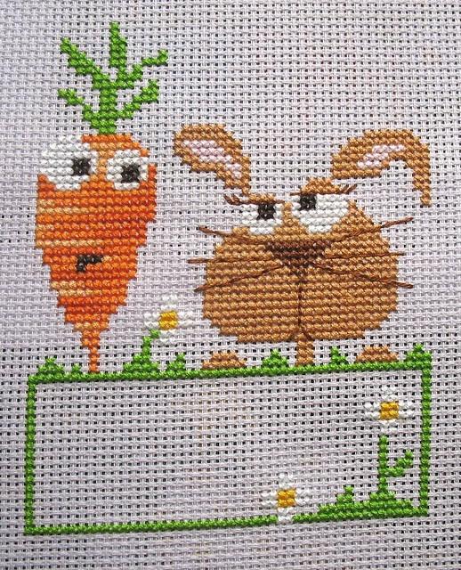 cross stitch Barbara Ana design