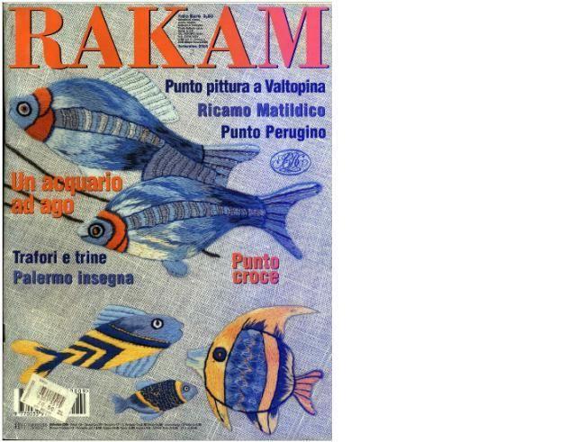 Итальянский журнал по вышивке RAKAM. Обсуждение на LiveInternet - Российский Сервис Онлайн-Дневников
