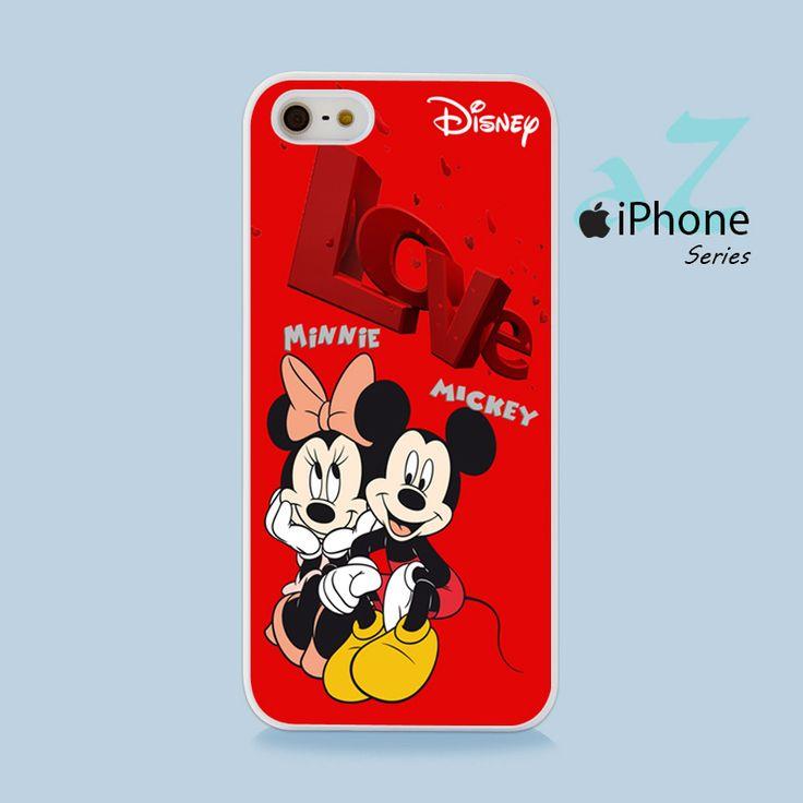 Disney Mickey & Minnie Mouse Phone Case | Apple iPhone 4/4s 5/5s 5c 6/6s 6/6s Plus Samsung Galaxy S3 S4 S5 S6 S6 Edge S7 S7 Edge Samsung Galaxy Note 3 4 5 Hard Case