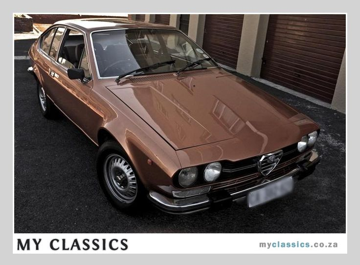 1978 Alfa Romeo gtv classic car