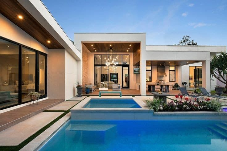 Luxury House Interior Exterior In 2020 Architect Modern Roofing Roof Design