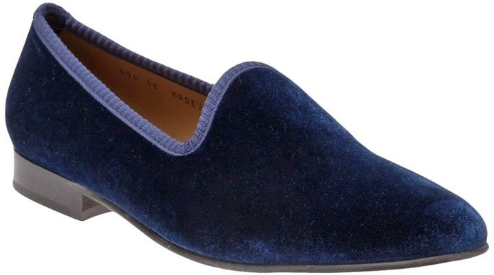 Del Toro Shoes Classic velvet loafer on shopstyle.com
