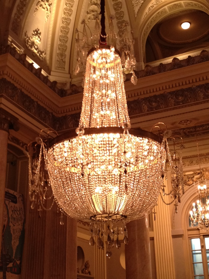 My Kind Of Chandelier Taken At The Great Chicago Theatre