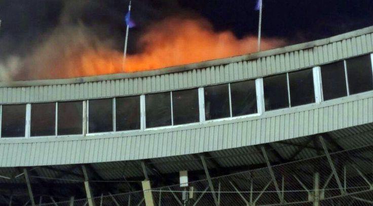 Se incendia el séptimo cielo en el estadio Quisqueya