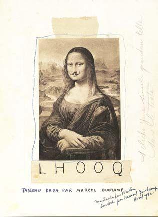 Marcel Duchamp: L.H.O.O.Q.