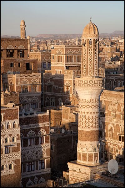Sana'a architecture, Yemen