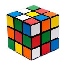 Rubik Cube this frustrating colourful cube, that I never was able to complete was invented by a Hungarian in 1974.