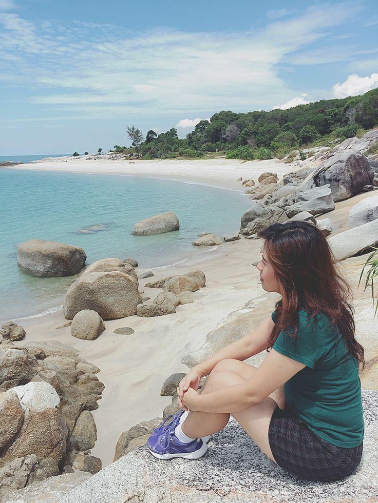 Pantai tikus sungailiat bangka