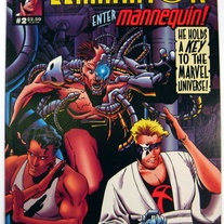 Eliminator #2 Ultraverse 1st Mannequin Malibu (Marvel) Comics (1995) FREE Shipping -- Publisher: Malibu Comics -- Year: 1995 -- Cover Art: Mike Zeck -- Grade: FN to FN/VF $4.00