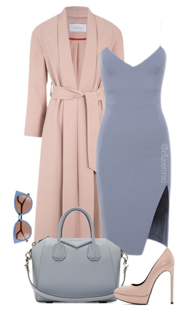 """""""Untitled #1123"""" by efiaeemnxo ❤ liked on Polyvore featuring Givenchy, Yves Saint Laurent and Fendi"""