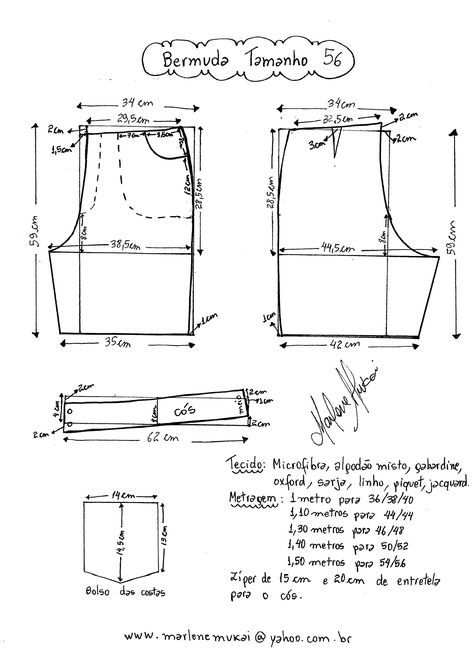 Pin by Maria da on Costura | Pinterest | Pants pattern and Patterns