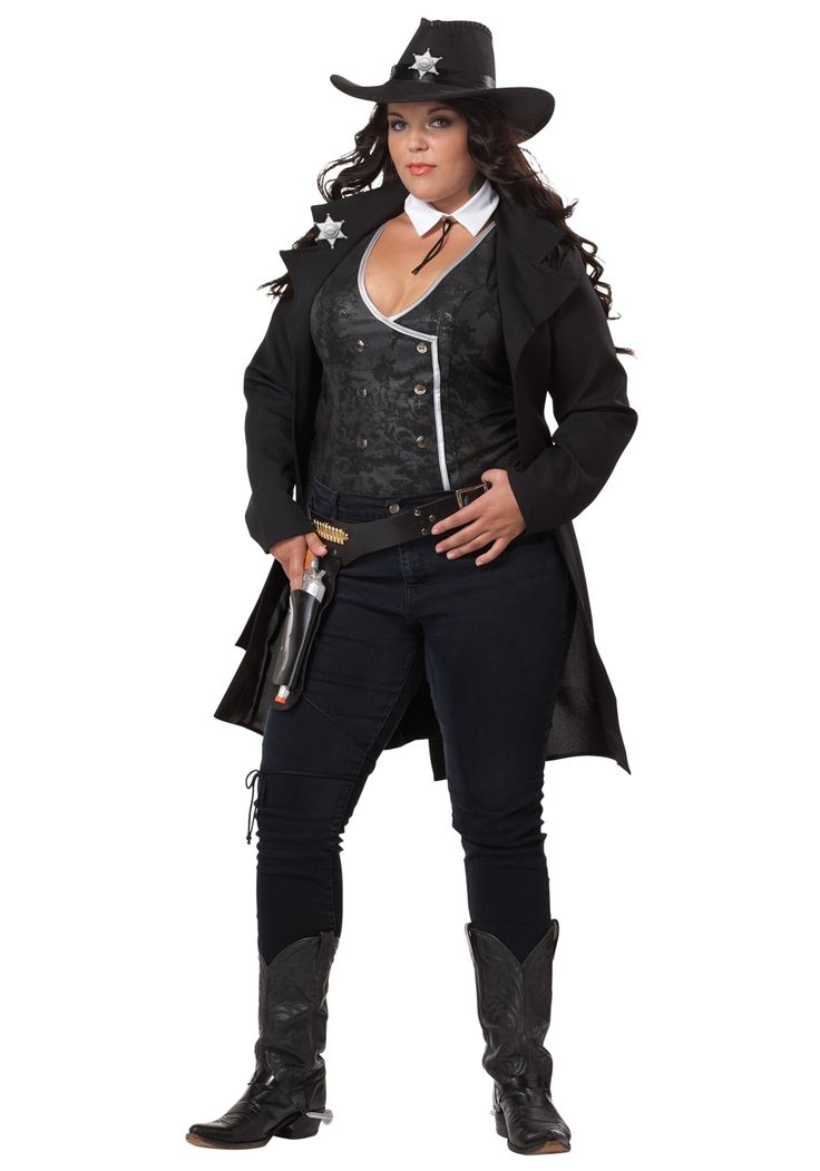 Plus Round Em Up Cowgirl Costume - Sexy Plus Size Cowgirl Costumes