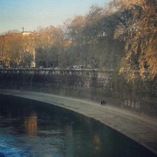 La sotto l'arberi, de lungotevere...Foto di 'sognirossi' per Romit.it