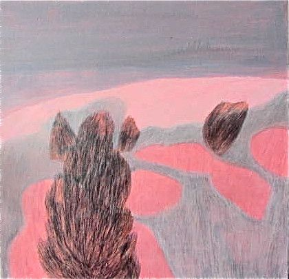 Acrylic and Pigment Painting by Paula Payne – PLATFORMstore