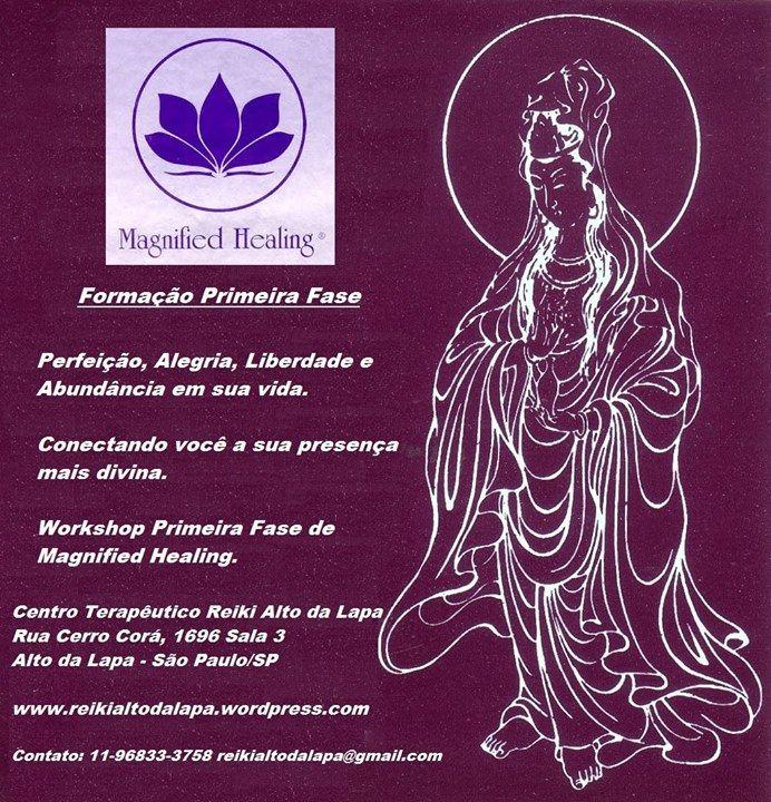 Palestra Gratuita Magnified Healing @ Centro Terapêutico Reiki Alto da Lapa - 22-August https://www.evensi.com/palestra-gratuita-magnified-healing-centro-terapeutico/219513124
