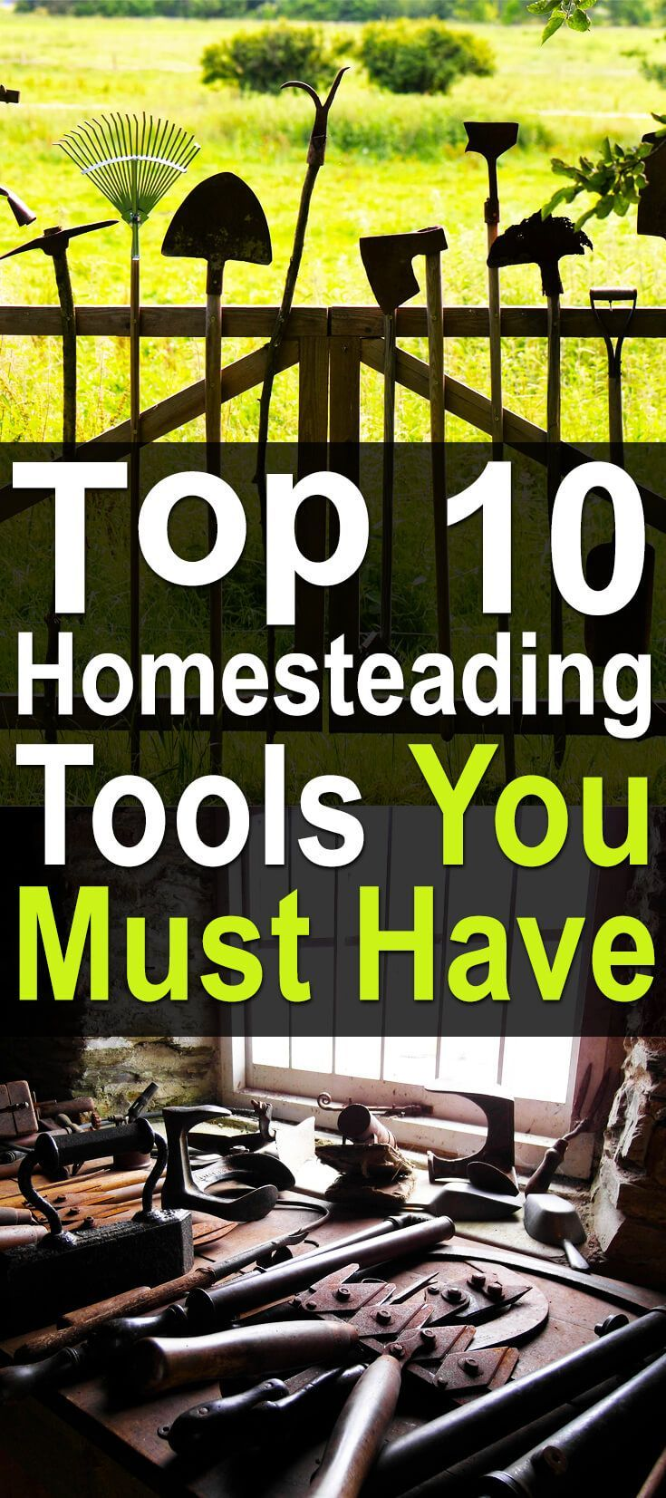 8607 best off the grid living images on pinterest for Gardening tools you must have