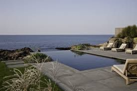 Image result for brushed concrete around pool