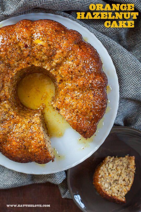 Orange Hazelnut Cake by Irvin Lin of Eat the Love