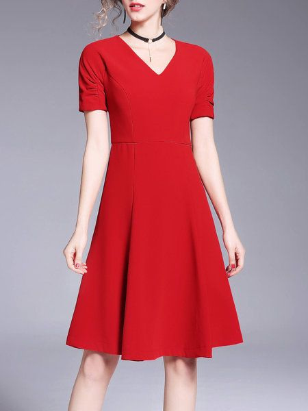 1000  ideas about Red Dress Casual on Pinterest | Dress casual ...