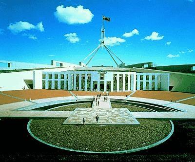Parliament House  Canberra Australia