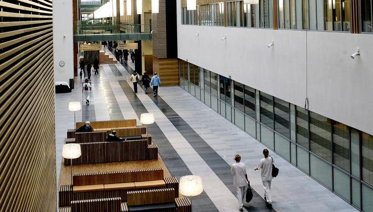 Vedere din interiorul Spitalului Universitar Akershus Foto: www.dagbladet.no
