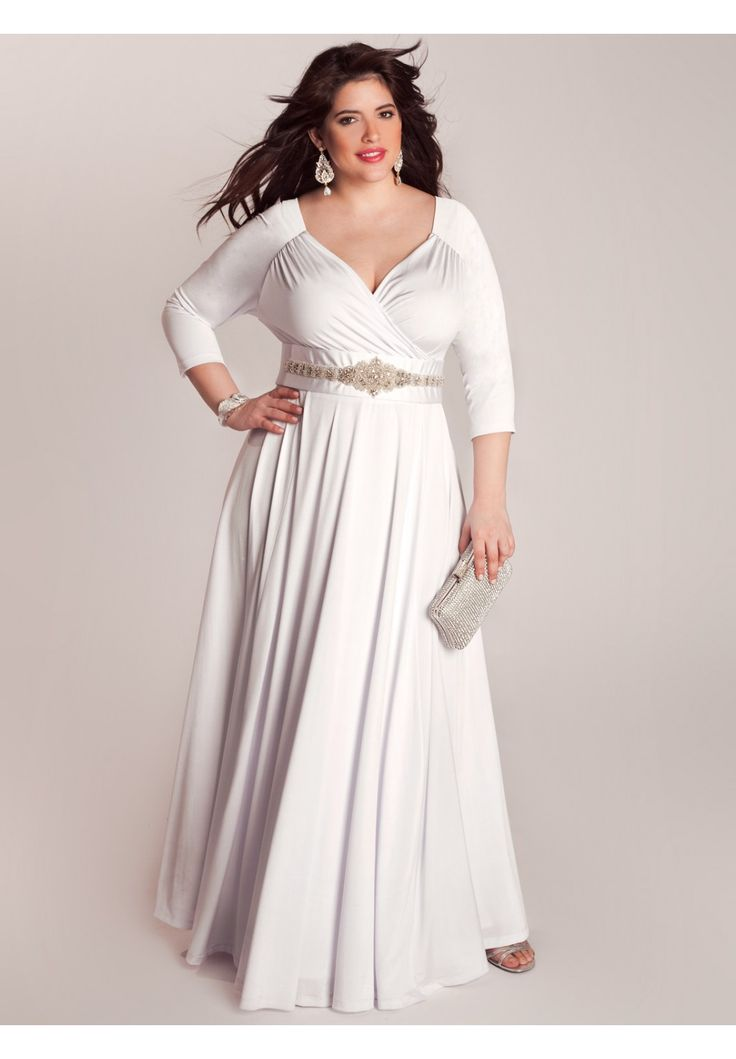 Bellerose Wedding Gown | Plus Size Special Occasion ...