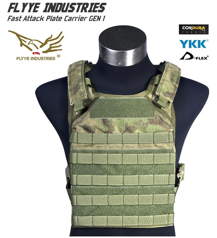 In stock FLYYE genuine MOLLE  Fast Attack Plate Carrier GEN 1 Military Tactical Vest  VT-M001