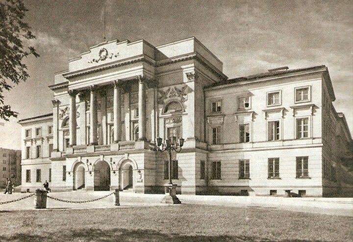 Palac Mostowskich 1939