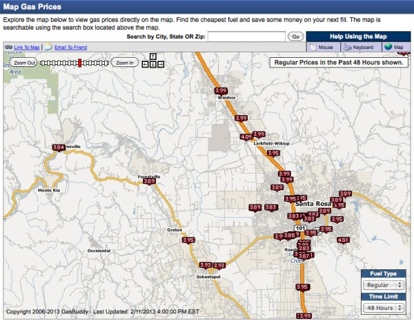 Live gas-prices map