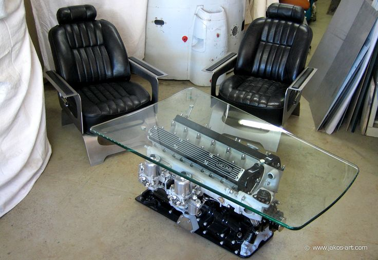 9 best table basse moteur images on pinterest couch table furniture ideas and automotive. Black Bedroom Furniture Sets. Home Design Ideas