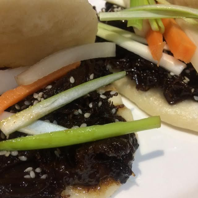 Delicious Bao Buns from Becky at Mint Custard