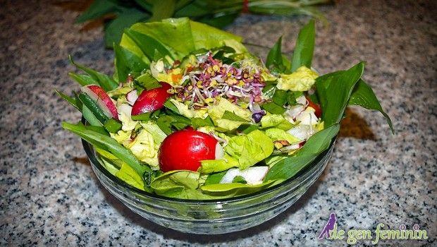 Salată de leurdă cu ridichii
