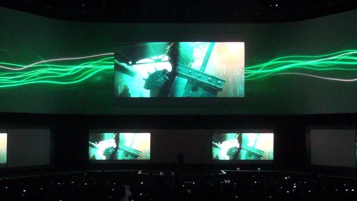 『ファイナルファンタジーVII』リメイク発表時の会場の様子