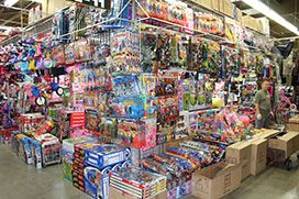 Widest collection at the toys store in shopping mall