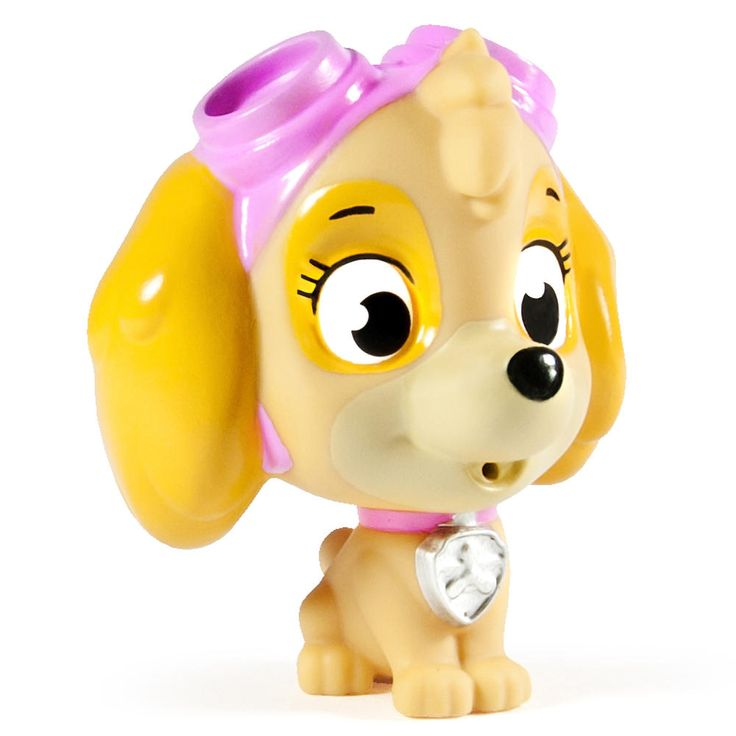 Now you can bring home your favorite Pup Pals for bath time! Skye Paw Patrol Squirter pup is made with bright and vibrant colors to make his Paw Patrol uniform pop. Collect all 7 squirter characters including Marshall, Rubble, Chase, Skye, Rocky and Zuma! Together with the Paw Patrol, your child's imagination will be lit up with pup inspired rescue missions full of friendship, teamwork and bravery. Bring home the protection of the Paw Patrol with this squirter assortment of Pup Pals! No job…