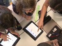 créer des exercices de mathématiques avec des tablettes (en 6ème mais transposable cycle 3)