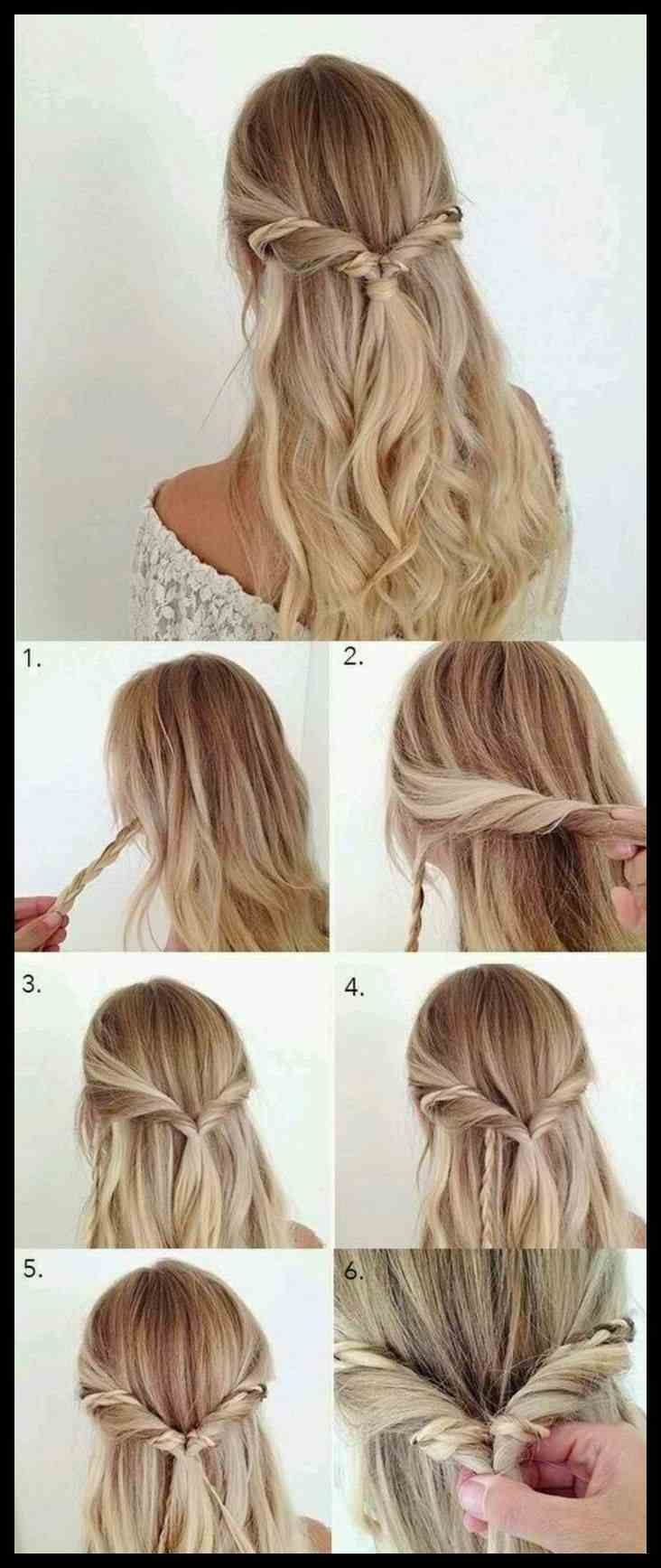▷ 8 + Ideen für schöne Frisuren sowie Anweisungen für