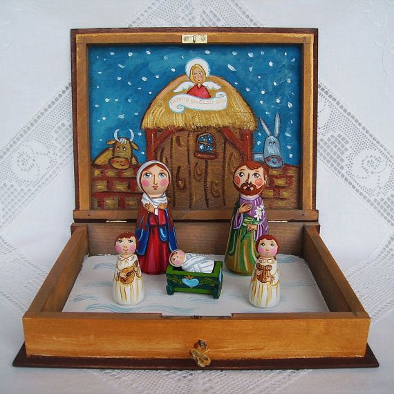 17 Best Ideas About Christmas Nativity On Pinterest