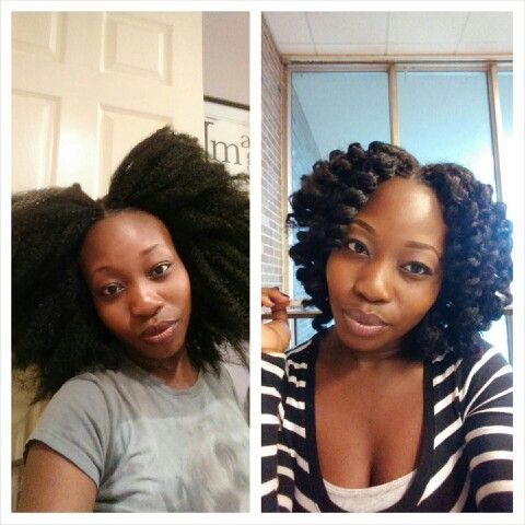 Crochet braids w\/marley hair  Protective Styles