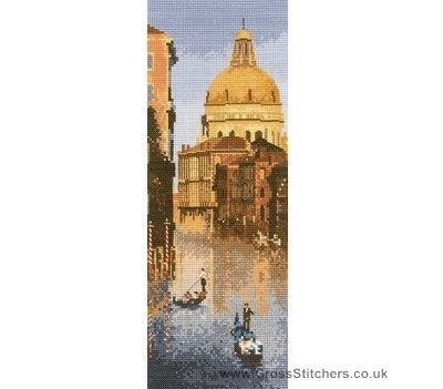 Venice - John Clayton Internationals Cross Stitch Kit from Heritage Crafts